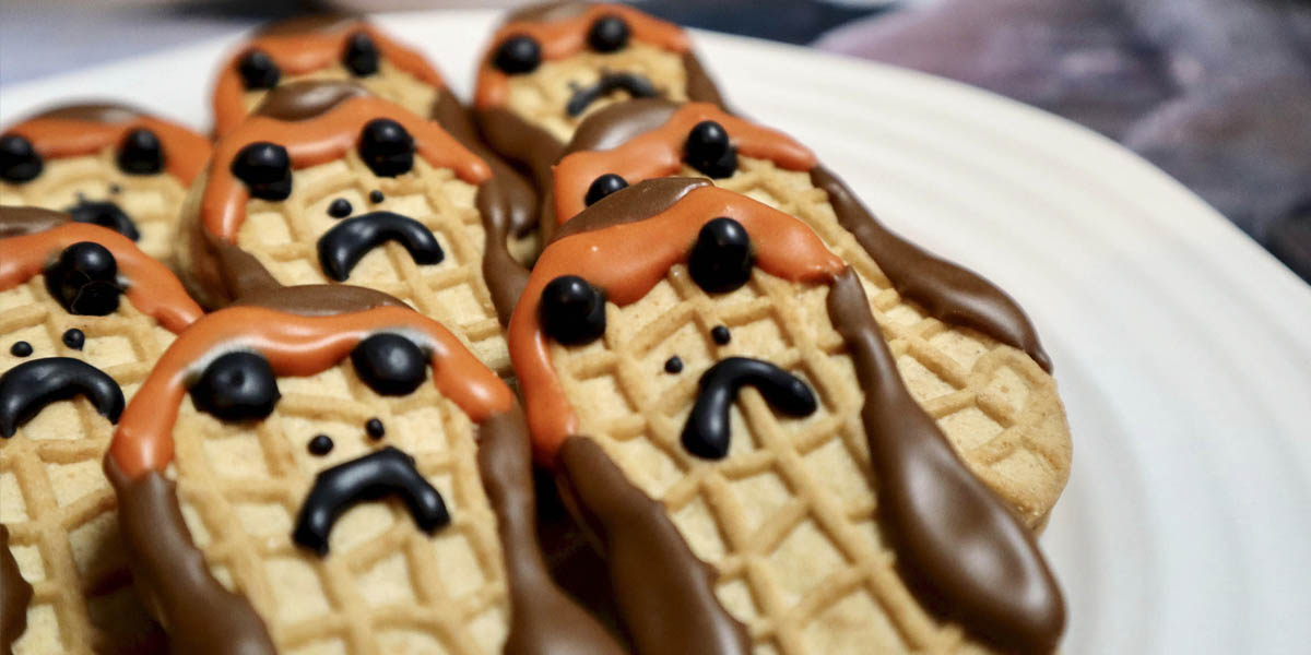 Easy Star Wars Porg Cookies Inspired by The Last Jedi