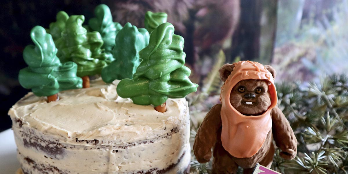 Star Wars Endor Cake Inspired by Return of the Jedi
