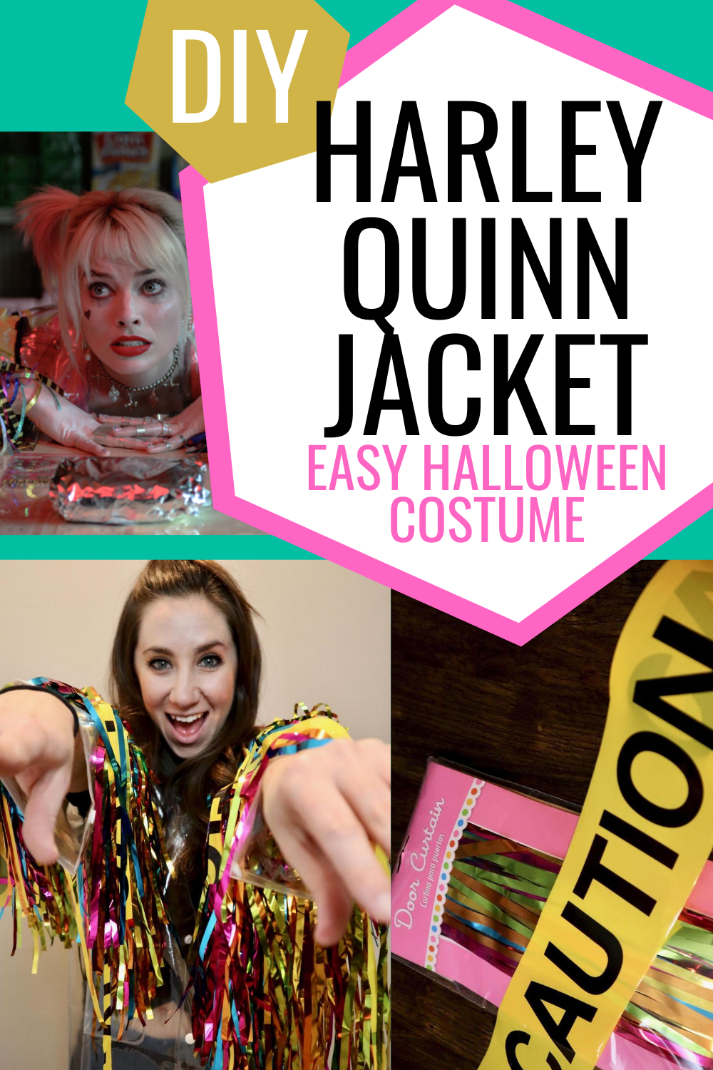 Diy Harley Quinn Birds Of Prey Jacket Popcorner Reviews