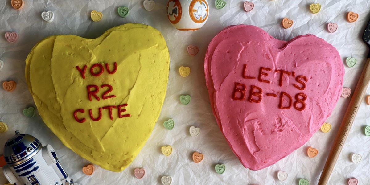 Star Wars Valentine's Day Cakes + Fashion Inspiration