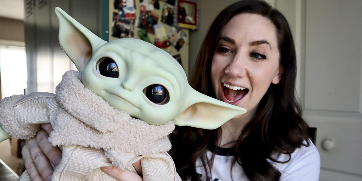 Baby Yoda from Mattel Unboxing and Giveaway