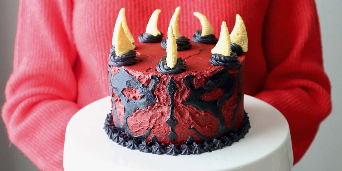 Maul Star Wars Cake