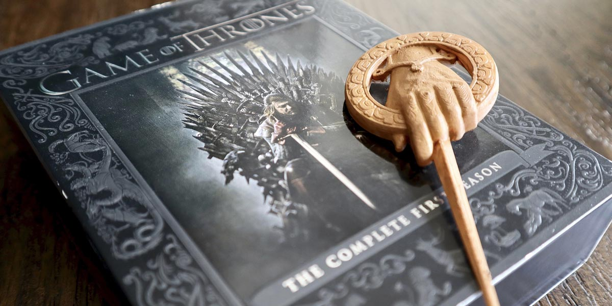 3D Printed Hand of the King Pin from Game of Thrones