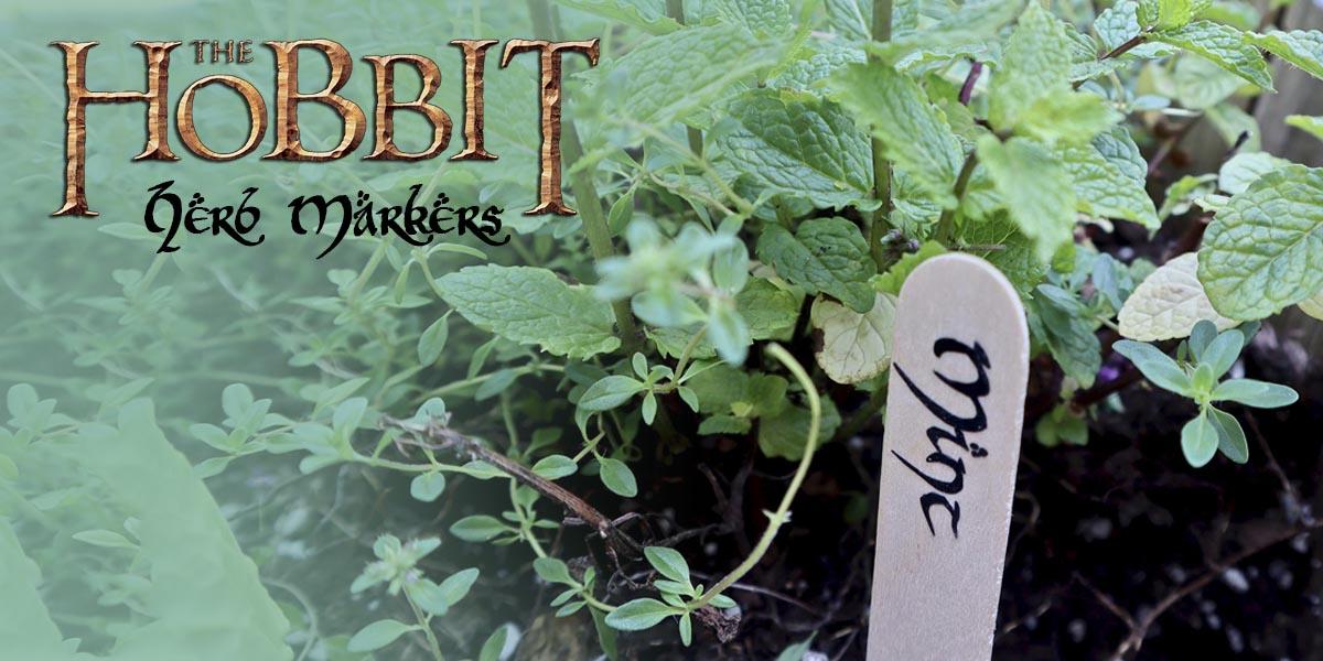 DIY Hobbit-Worthy Herb Garden Markers