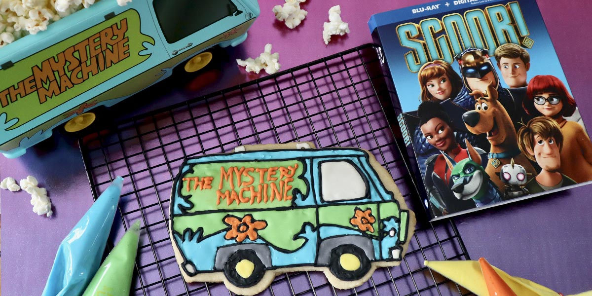 Mystery Machine Cookies Inspired by SCOOB!