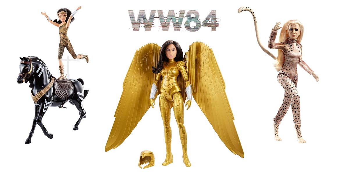 New Wonder Woman 1984 Doll Collections Released by Barbie and Mattel