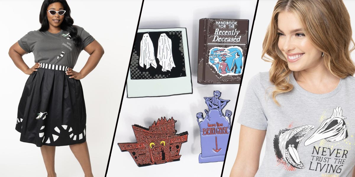 This Beetlejuice Collection from Unique Vintage is Strange and Unusual (In a Good Way!)