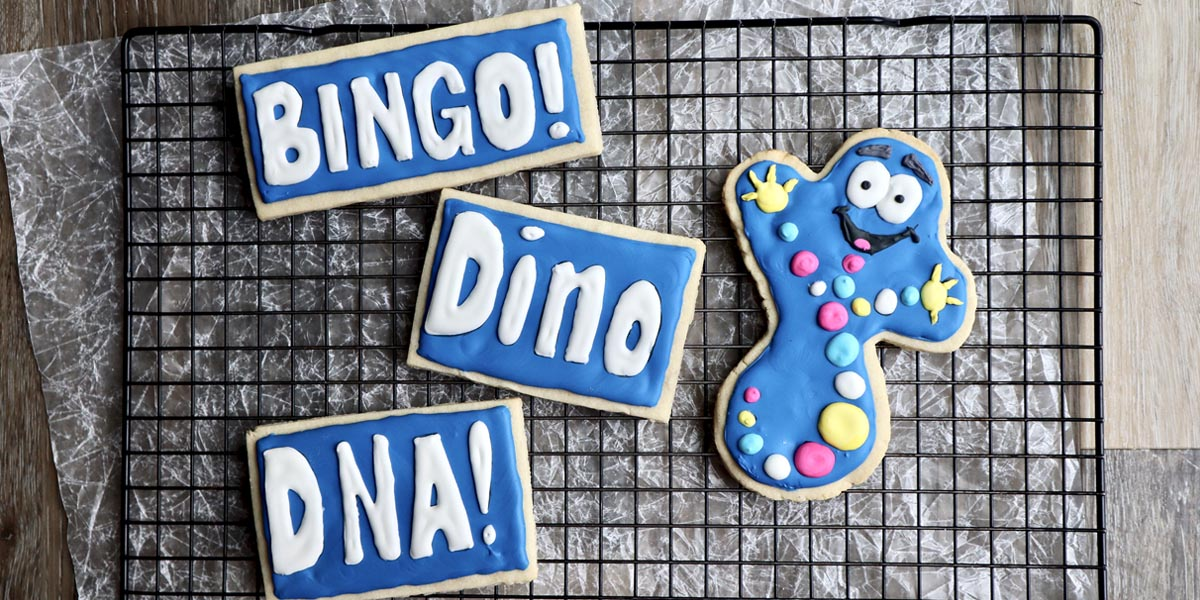 Mr. DNA Jurassic Park Cookies