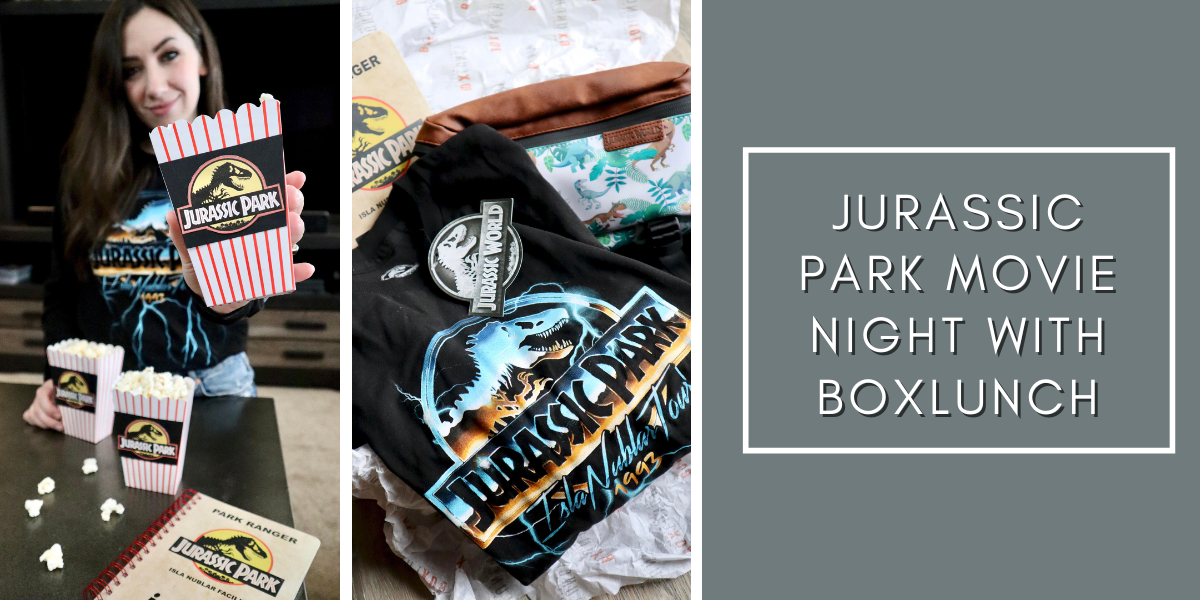 Jurassic Park Movie Night with BoxLunch