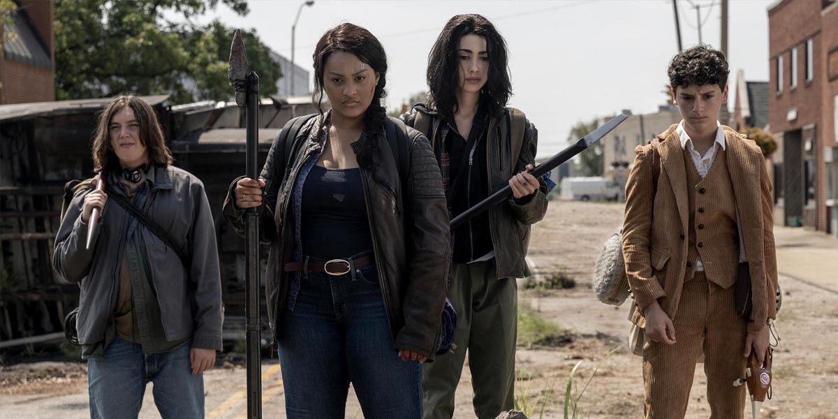 The Walking Dead: World Beyond's Aliyah Royale on the New Series and Her Character Iris