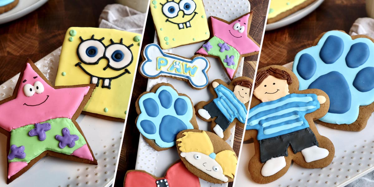 Celebrate the Holidays with Nickelodeon Favorites and Gingerbread Cookies