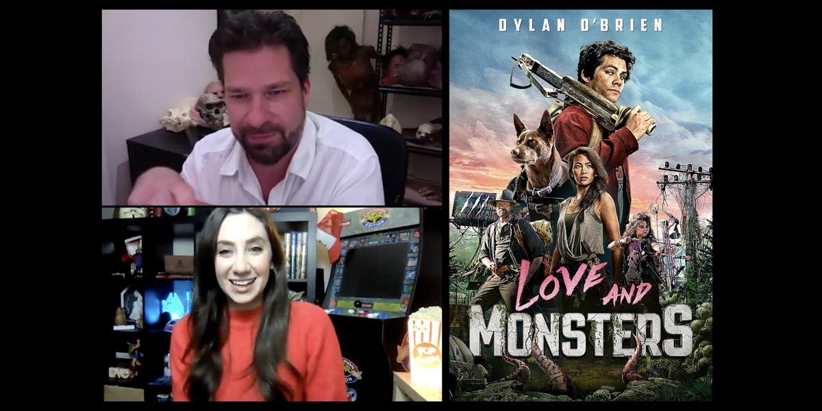 Love and Monsters Interview with Steve Boyle – Special Effects and Bringing the Creatures to Life