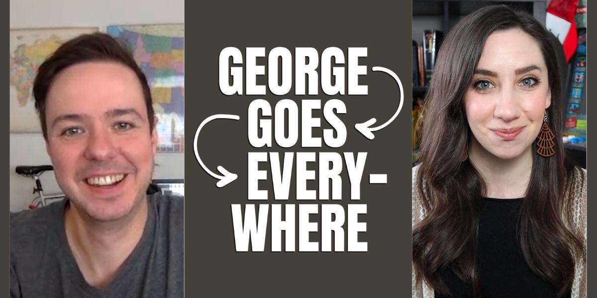 INTERVIEW: George Goes Everywhere Explores Popular U.S. Cities for Under $100 a Day in New Travel Series
