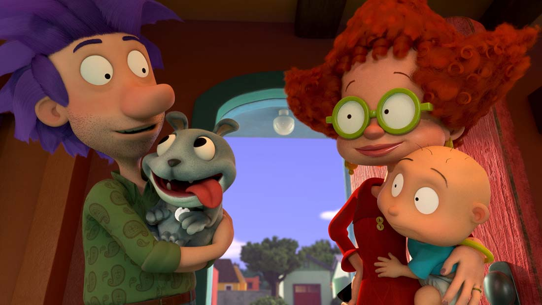 Ashley Rae Spillers and Tommy Dewey on Voicing Stu and Didi Pickles in the Rugrats Reboot