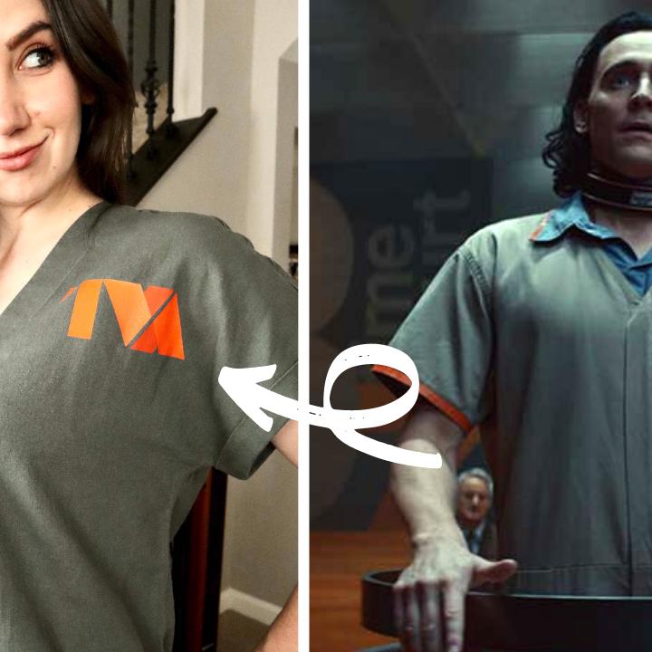 Make Your Own Loki TVA Shirt