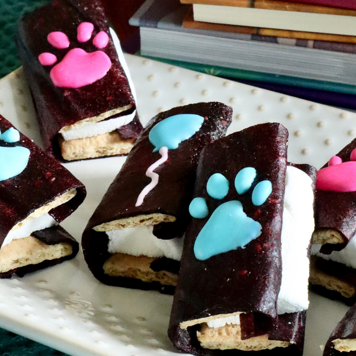 Blue's Clues and You! Edible Book Snack Recipe