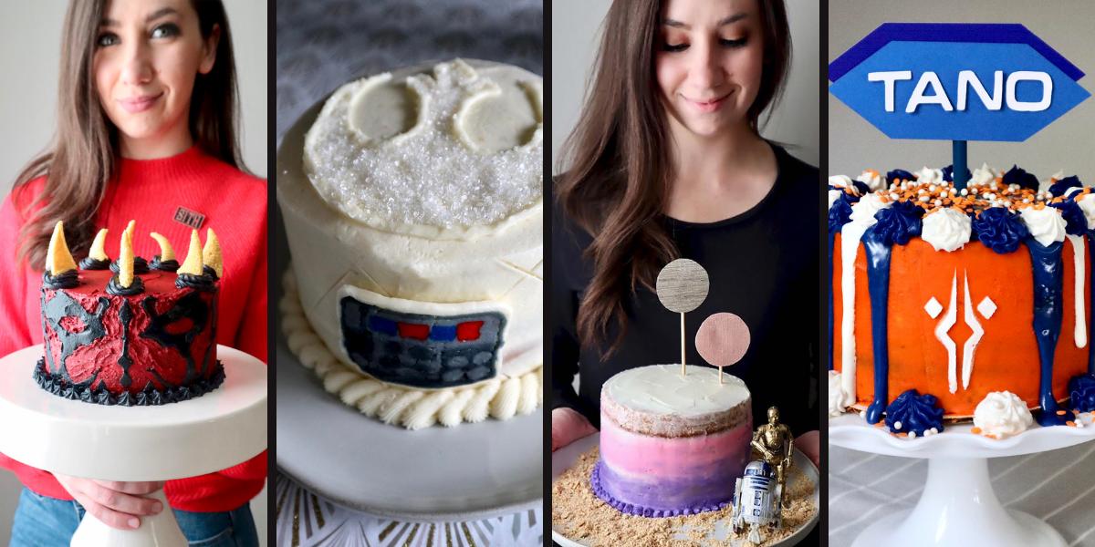 10+ Star Wars Cake Ideas